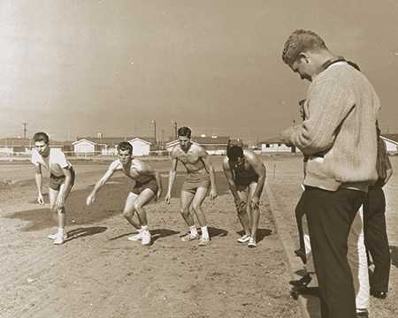 1961 track and soccer FPU